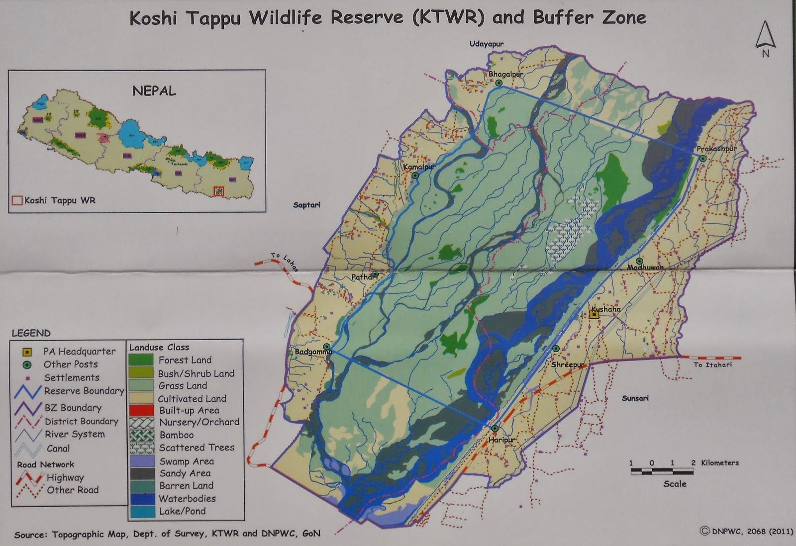 Koshi Tappu Wildlife Reserve | Activity | Mountain World Treks |
