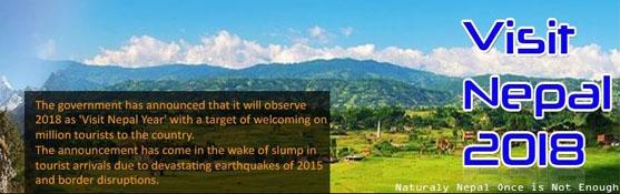 Visit Nepal 2018